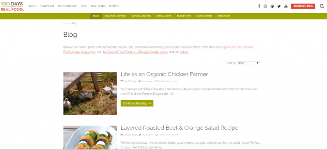 100-Days-of-Real-Food-675x310 Best 50 Healthy Food Blogs and Websites to Follow in 2020