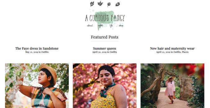 A-Curious-Fancy-blog-screenshot-675x349 Top 60 Trendy Women Fashion Blogs to Follow in 2021