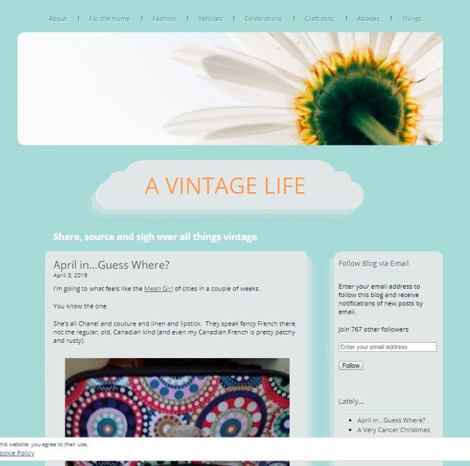 A-vintage-life-blog-screenshot-675x670 Top 60 Trendy Women Fashion Blogs to Follow in 2021