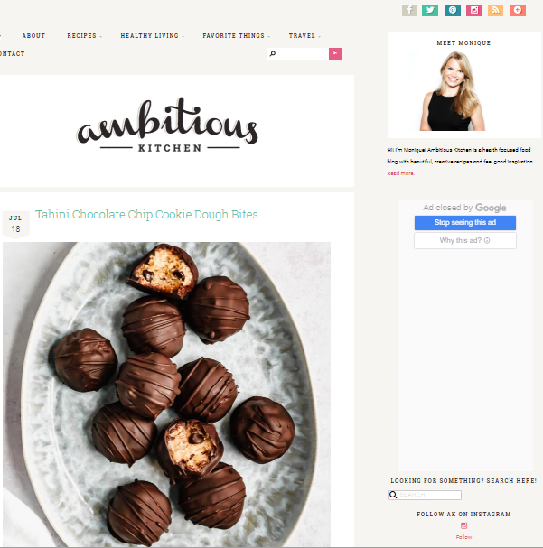 Ambitious-Kitchen Best 50 Healthy Food Blogs and Websites to Follow in 2020