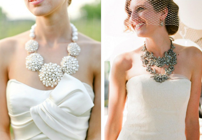 Bridal-Statement-Necklaces-675x468 Three Accessories That Brides Shouldn't Skip