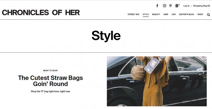 Chronicles-of-Her-blog-screenshot-675x347 Top 60 Trendy Women Fashion Blogs to Follow in 2019