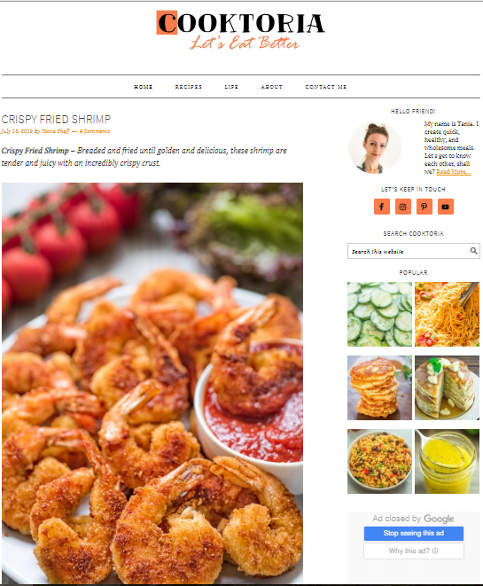 Cooktoria Best 50 Healthy Food Blogs and Websites to Follow in 2020