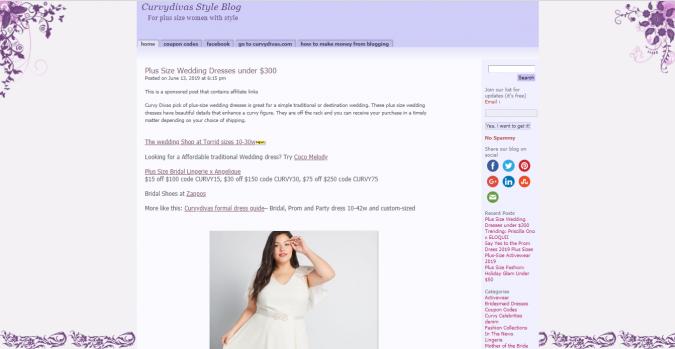 Curvy-Davis-Style-Blog-website-screenshot-675x349 Top 60 Trendy Women Fashion Blogs to Follow in 2019