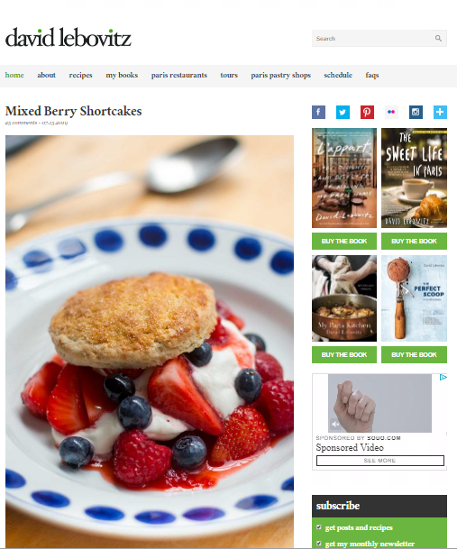 David-Lebovitz Best 50 Healthy Food Blogs and Websites to Follow in 2019