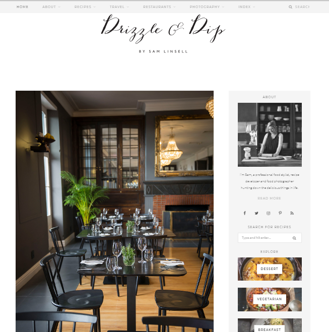 Drizzle-Dip Best 50 Healthy Food Blogs and Websites to Follow in 2020