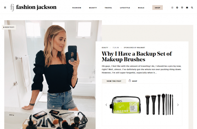 Fashion-Jackson-website-screenshot-675x444 Top 60 Trendy Women Fashion Blogs to Follow in 2019
