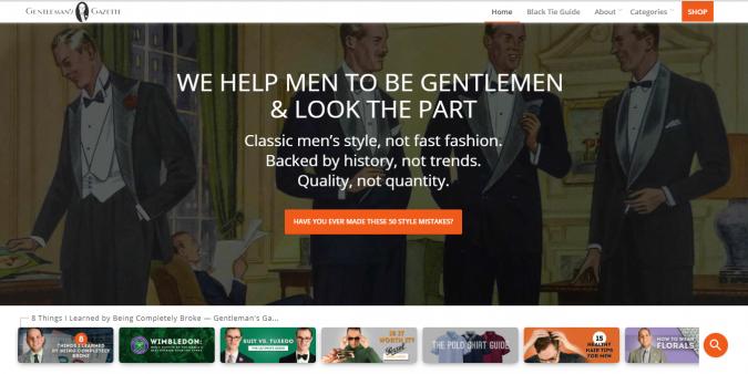 Fashion-style-website-gentleman-gazette-675x338 Top 60 Trendy Men Fashion Websites to Follow in 2020