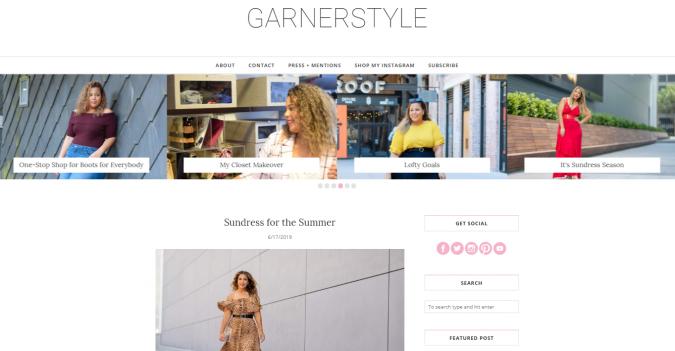 GarnerStyle-website-screenshot-675x351 Top 60 Trendy Women Fashion Blogs to Follow in 2021