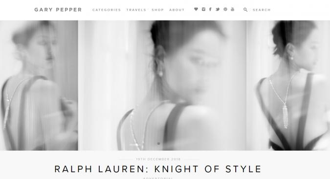 Gary-Pepper-blog-screenshot-675x367 Top 60 Trendy Women Fashion Blogs to Follow in 2019