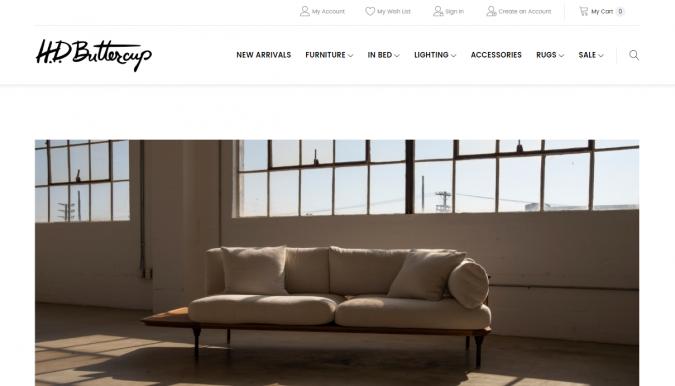 HD-butter-cup-website-screenshot-675x386 Best 50 Home Decor Websites to Follow in 2020