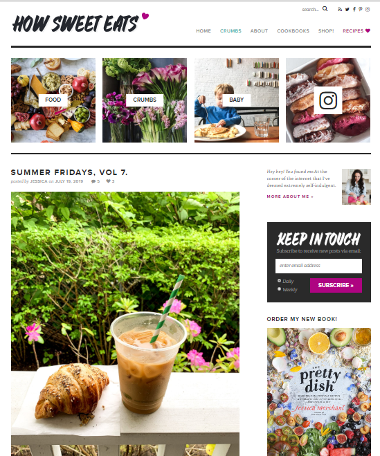 How-Sweet-It-Is Best 50 Healthy Food Blogs and Websites to Follow in 2020
