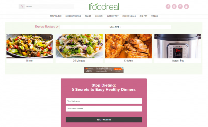 Ifoodreal-food-website-675x415 Best 50 Healthy Food Blogs and Websites to Follow in 2020