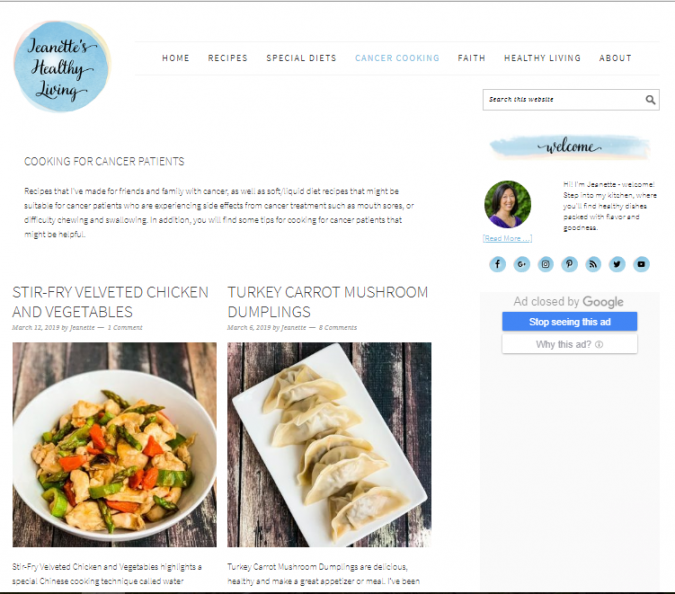 Jeanettes-Healthy-Living-675x594 Best 50 Healthy Food Blogs and Websites to Follow in 2020