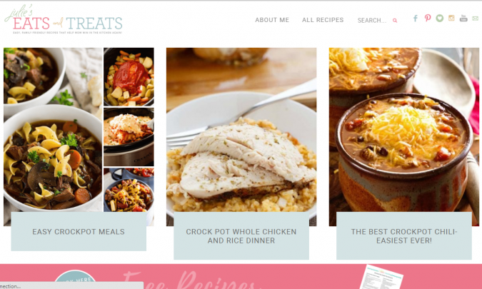 Julie's-Eats-Treats-675x405 Best 50 Healthy Food Blogs and Websites to Follow in 2020