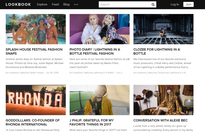 LookBook-blog-screenshot-675x435 Top 60 Trendy Women Fashion Blogs to Follow in 2021