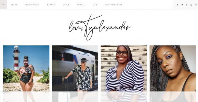 Love-Ty-Alexander-website-screenshot-675x350 Top 60 Trendy Women Fashion Blogs to Follow in 2019