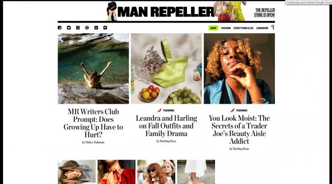 Man-Repeller-website-screenshot-675x376 Top 60 Trendy Women Fashion Blogs to Follow in 2021