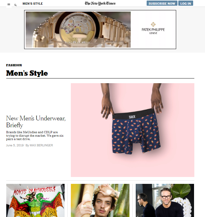 Mens-style-the-new-york-times Top 60 Trendy Men Fashion Websites to Follow in 2020