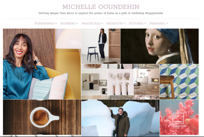Michelle-Ogundehin-website-screenshot-675x455 Best 50 Home Decor Websites to Follow in 2020