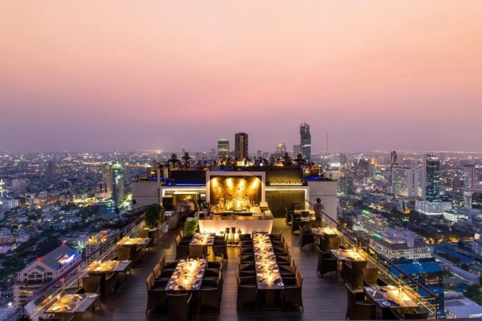 Moon-Bar-al-fresco-rooftop-dining-Bangkok-675x450 5 Most Romantic Getaways for You and Your Loved One