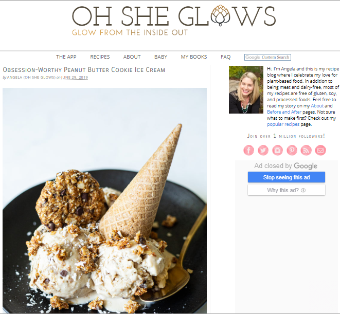 Oh-She-Glows Best 50 Healthy Food Blogs and Websites to Follow in 2019