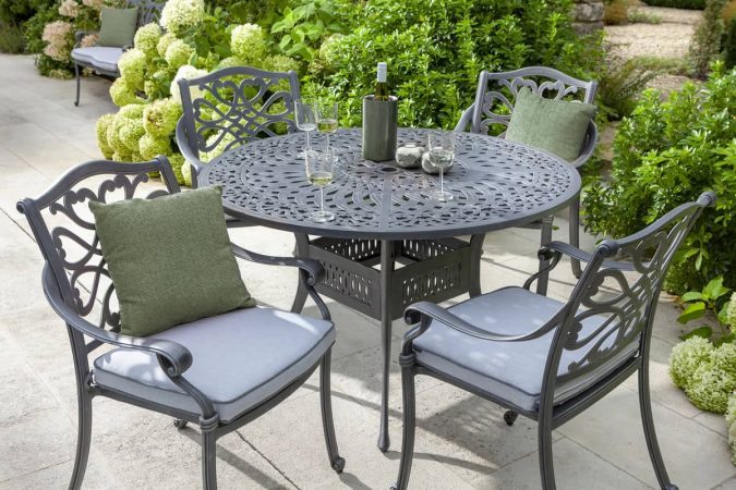 Oyster-Grey-patio-furniture-675x450 How to Create a Wonderful Patio Area for Summer Entertaining and Relaxation