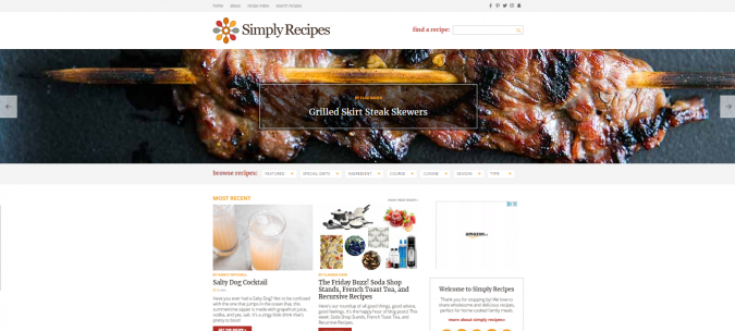 Simply-Recipes-675x304 Best 50 Healthy Food Blogs and Websites to Follow in 2019