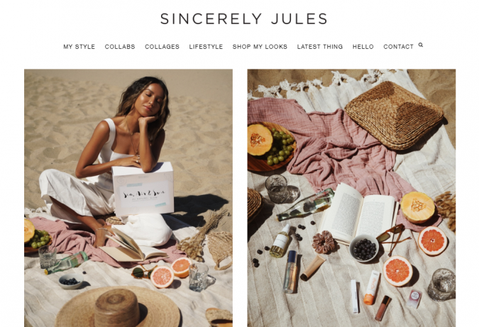 Sincerely-Jules-blog-screenshot-675x461 Top 60 Trendy Women Fashion Blogs to Follow in 2019