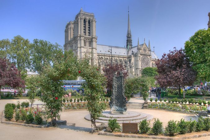 Square-Rene-Viviani-paris-675x450 5 Most Romantic Getaways for You and Your Loved One