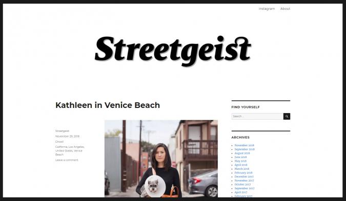 Streetgeist-website-screenshot-675x393 Top 60 Trendy Women Fashion Blogs to Follow in 2021