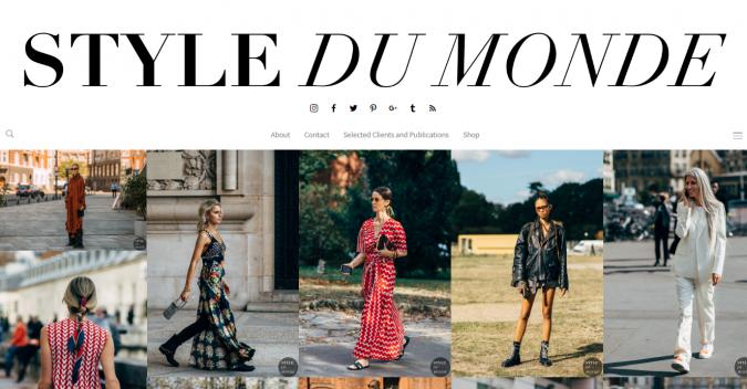 Style-Du-Monde-website-screenshot-675x352 Top 60 Trendy Women Fashion Blogs to Follow in 2019