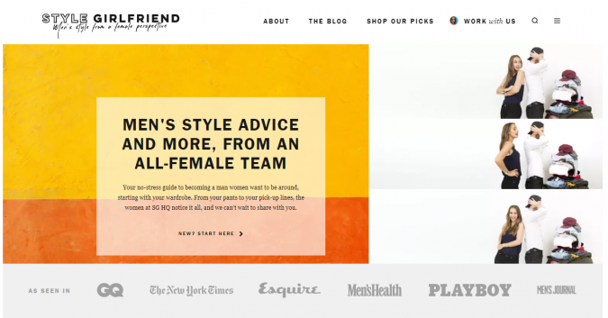Style-Girlfriend-fashion-style-website-675x353 Top 60 Trendy Men Fashion Websites to Follow in 2019