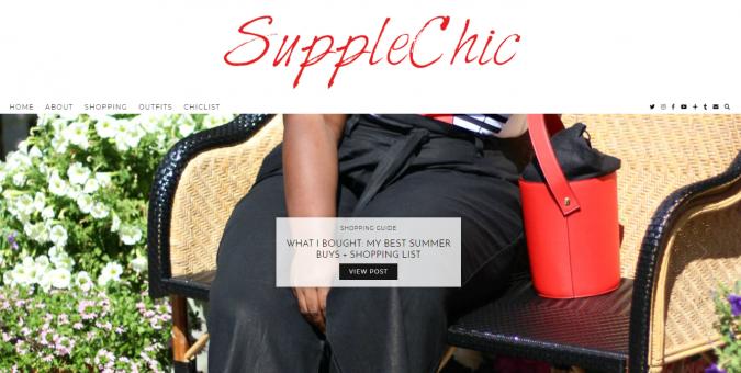 SuppleChic-blog-screenshot-675x340 Top 60 Trendy Women Fashion Blogs to Follow in 2021