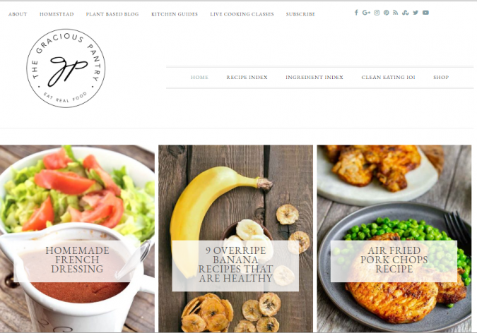 The-Gracious-Pantry-675x472 Best 50 Healthy Food Blogs and Websites to Follow in 2020