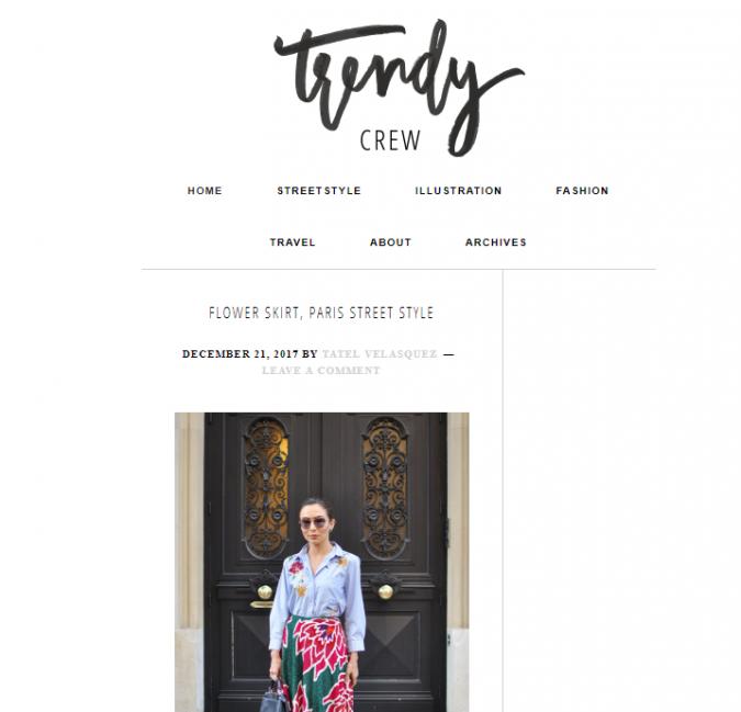 Trendy-Crew-blog-screenshot-675x649 Top 60 Trendy Women Fashion Blogs to Follow in 2021