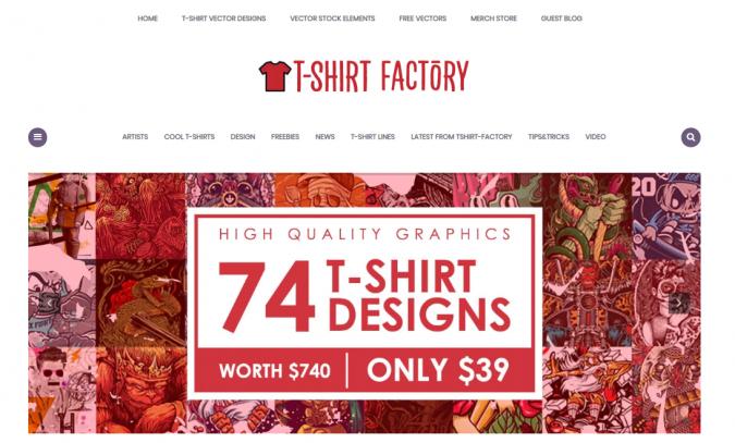 Tshirt-Factory-blog-screenshot-675x407 Top 60 Trendy Women Fashion Blogs to Follow in 2019