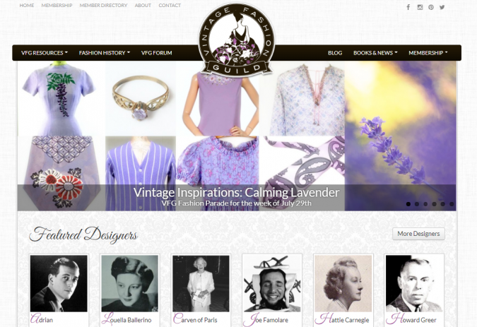Vintage-Fashion-Guild-website-screenshot-675x463 Top 60 Trendy Women Fashion Blogs to Follow in 2019
