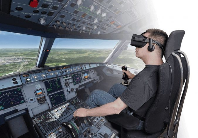Virtual-reality-pilot-training-675x470 5 Ways You Can Use Virtual Reality in the Workplace