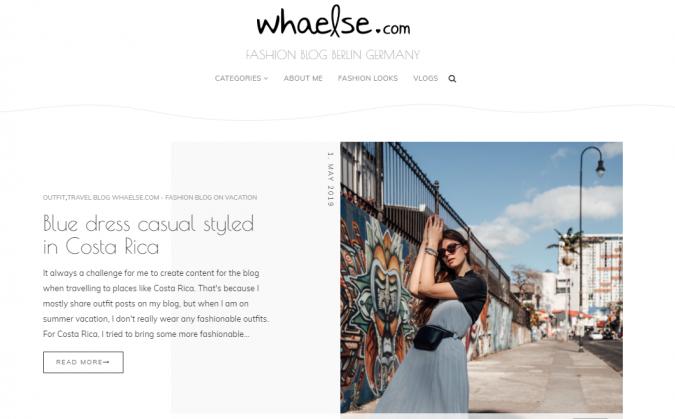 Whaelse.com-blog-screenshot-675x419 Top 60 Trendy Women Fashion Blogs to Follow in 2019