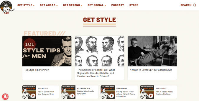 art-of-manliness-style-website-675x345 Top 60 Trendy Men Fashion Websites to Follow in 2019