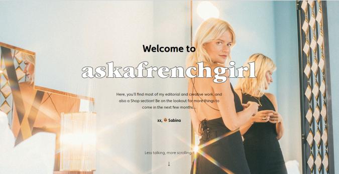 ask-a-french-girl-website-screenshot-675x347 Top 60 Trendy Women Fashion Blogs to Follow in 2021