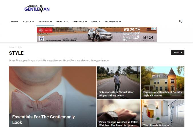 aspiring-gentleman-style-website-675x443 Top 60 Trendy Men Fashion Websites to Follow in 2019