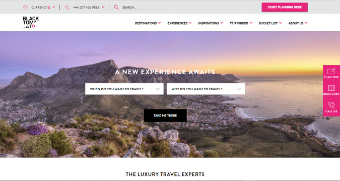 black-tomato-travel-website-675x359 Best 60 Travel Website Services to Follow in 2019
