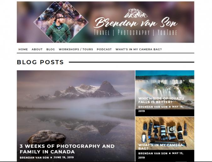 brendan-van-son-travel-website-675x517 Best 60 Travel Website Services to Follow in 2020