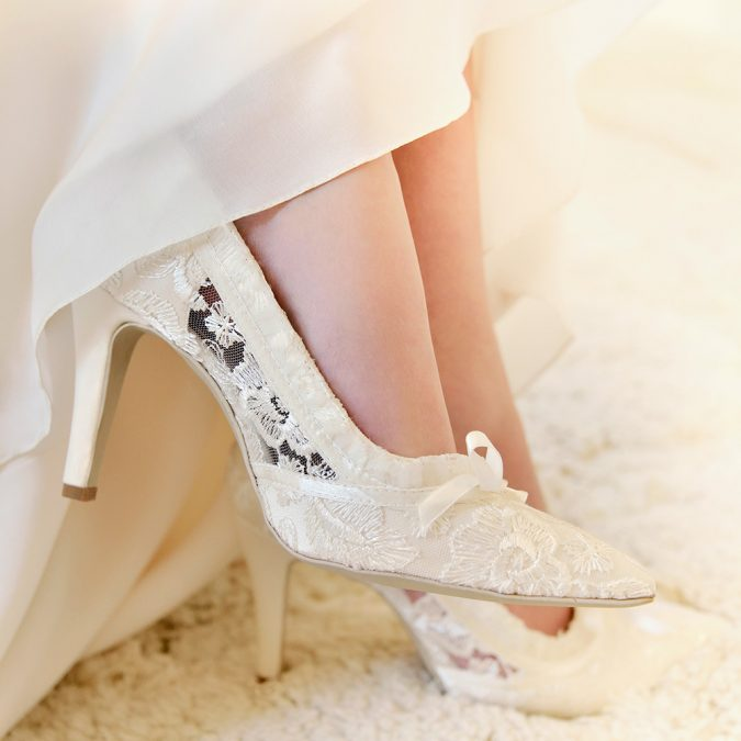 bridal-shoes-675x675 Three Accessories That Brides Shouldn't Skip