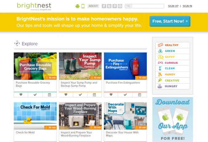 bright-nest-website-screenshot-675x462 Best 50 Home Decor Websites to Follow in 2019