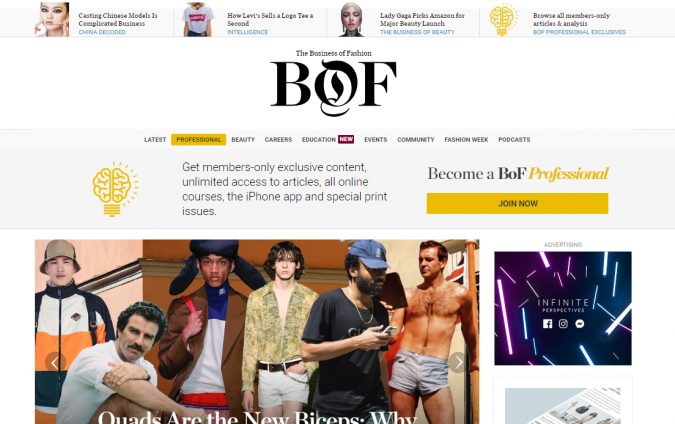 business-of-fashion-style-website-675x424 Top 60 Trendy Men Fashion Websites to Follow in 2020