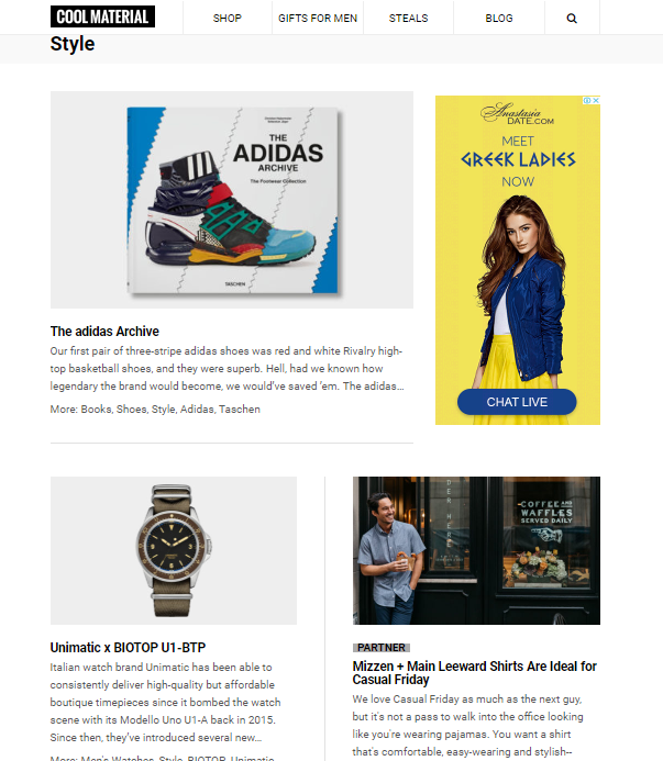 cool-material-style-website-1 Top 60 Trendy Men Fashion Websites to Follow in 2019