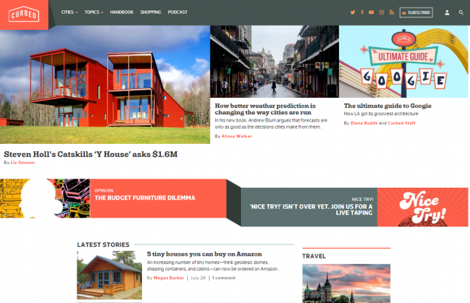 curbed-website-screenshot-675x436 Best 50 Home Decor Websites to Follow in 2020